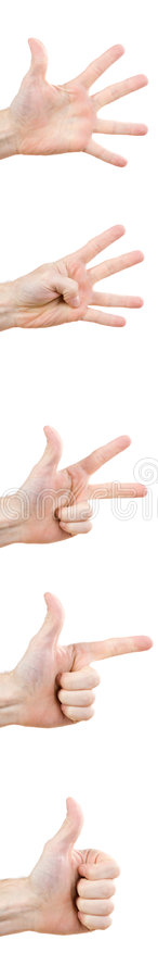 Download Hand gestures stock image. Image of goodness, counting - 3549563