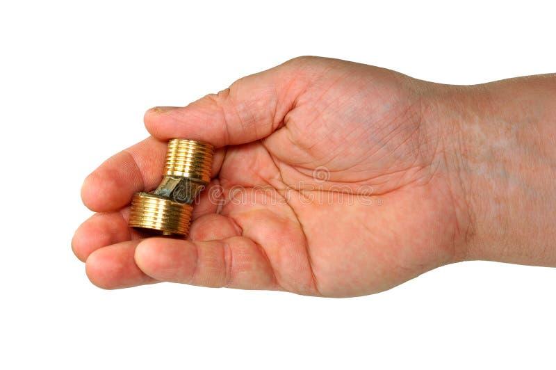 Hand getrennt. stockfoto