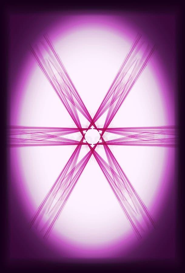 Hand getrokken abstracte illustratie stock afbeelding