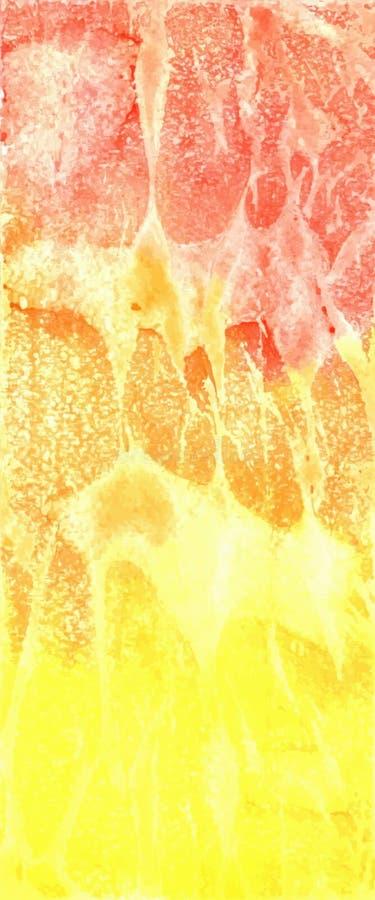 Hand getrokken waterverfachtergrond royalty-vrije stock afbeelding