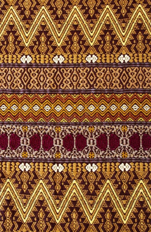 Hand geweven Guatemalaans tapijtwerk royalty-vrije stock afbeeldingen