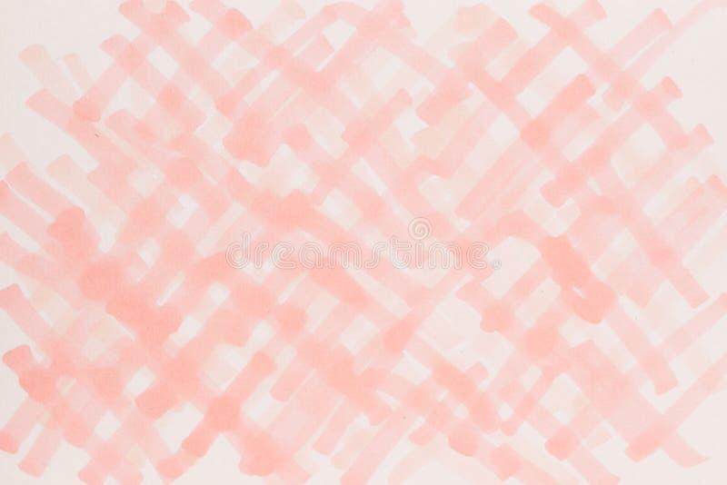 Hand gezeichnete helle rote Hintergrundillustration stock abbildung