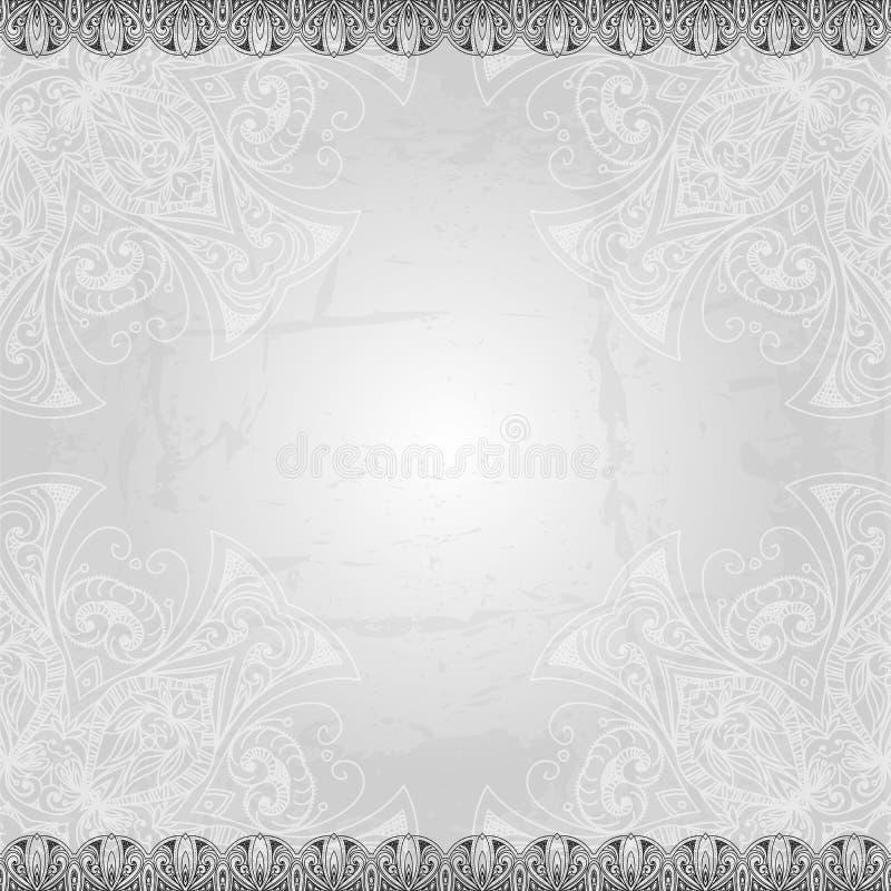 Hand gezeichneter abstrakter Hintergrund Hand gezeichnete Zusammenfassung stock abbildung