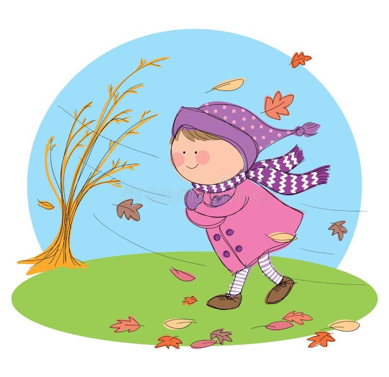 Herbst-Jahreszeit stock abbildung