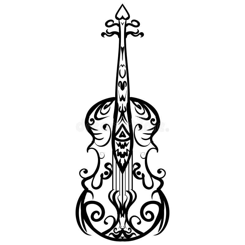 Hand gezeichnetes Cello-Skizzen-Symbol Dieses ist Datei des Formats EPS10 vektor abbildung