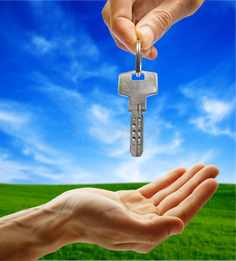 Download Hand giving key stock image. Image of person, auto, hold - 13285739