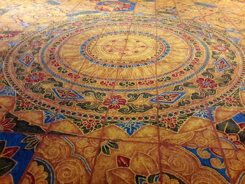 Hand - gjord matta royaltyfria foton