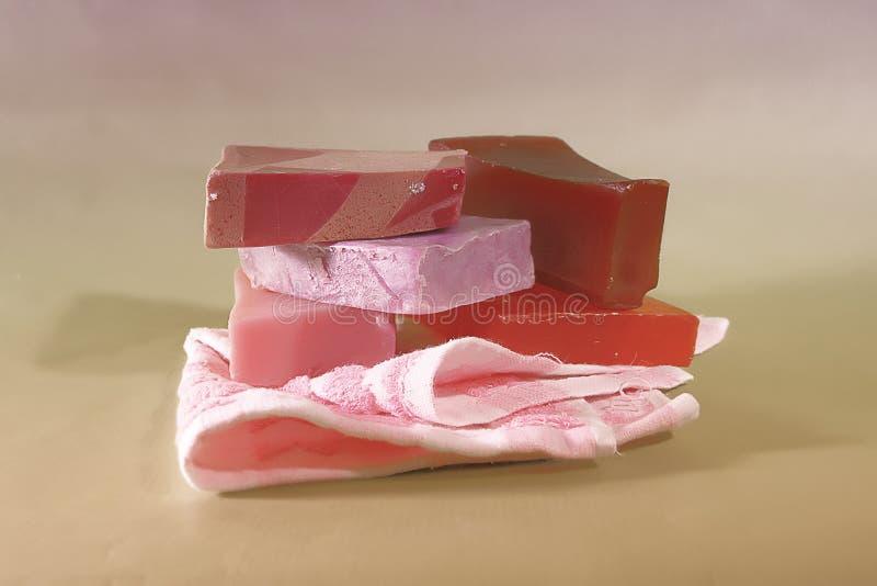 hand - gjord tvål arkivbilder