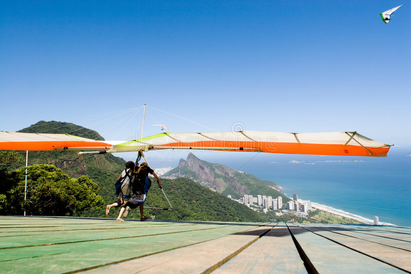 Download Hand gliding stock photo. Image of glide, pair, exhilarating - 3563238
