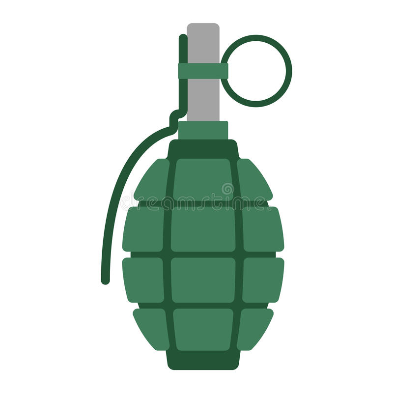 hand grenade bomb explosion weapons vector illustration stock vector rh dreamstime com