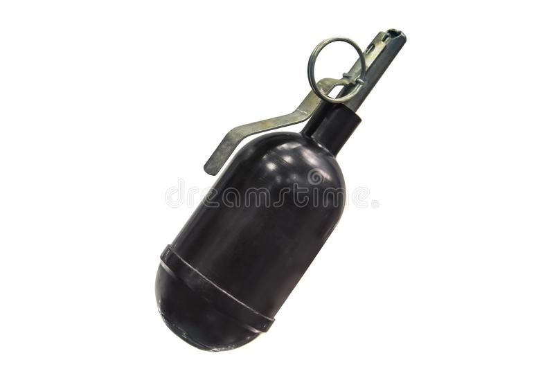 Hand Grenade Weapon War Isolated White Stock Images