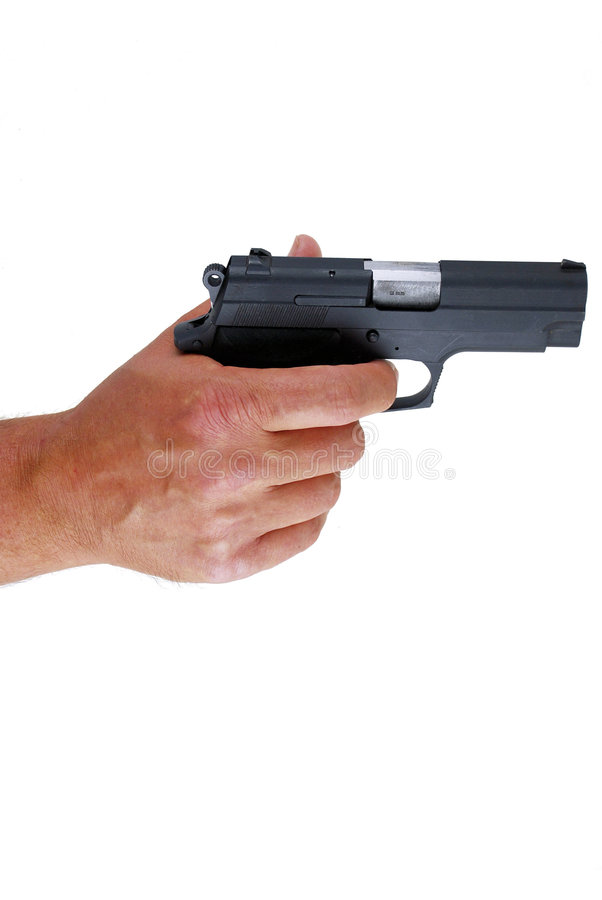Download Hand With A Gun Royalty Free Stock Photo - Image: 9210225