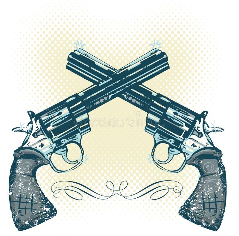 Free Hand Guns Vector Illustration Stock Photos - 5534113