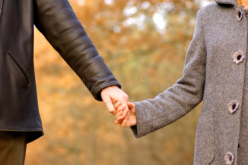 Download Hand-in-hand stock photo. Image of woman, love, walk, family - 1567450