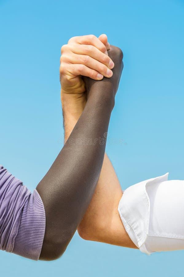 Hand in Hand stockfotografie