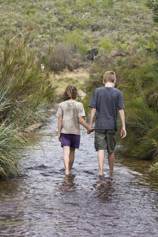 Download Hand in Hand stock image. Image of walking, exploration - 7667961
