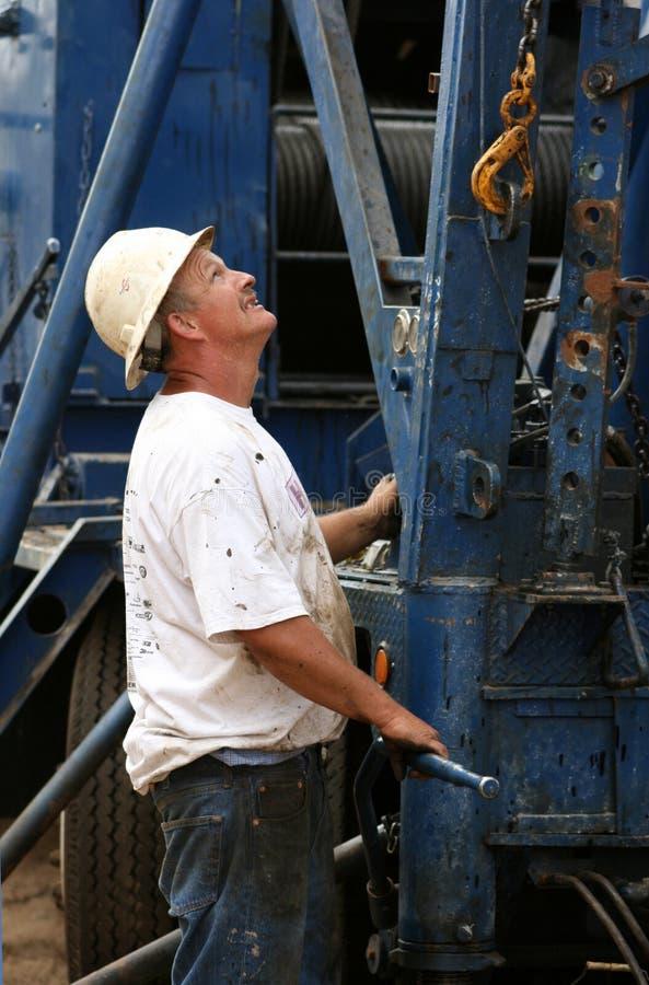 Hand Handarbeider royalty-vrije stock afbeelding