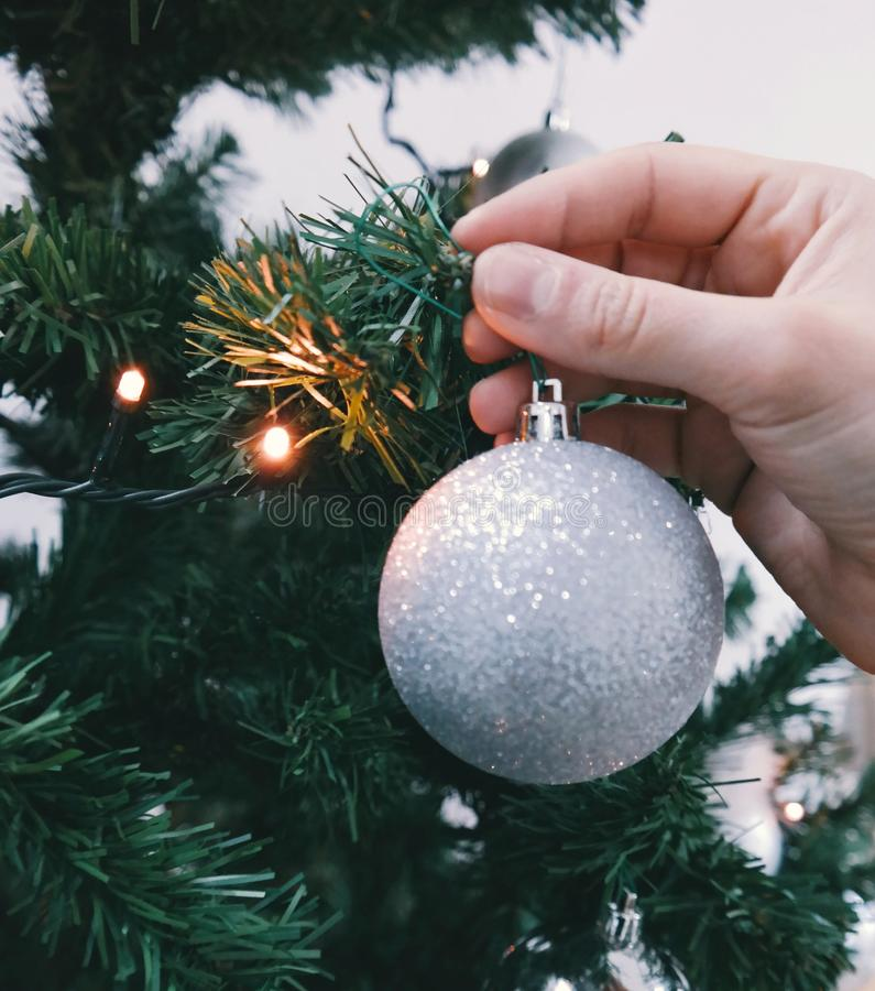 Hand Hanging Christmas Ornament Free Public Domain Cc0 Image