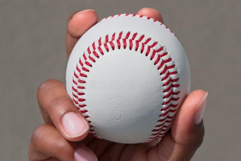 Hand has a ball