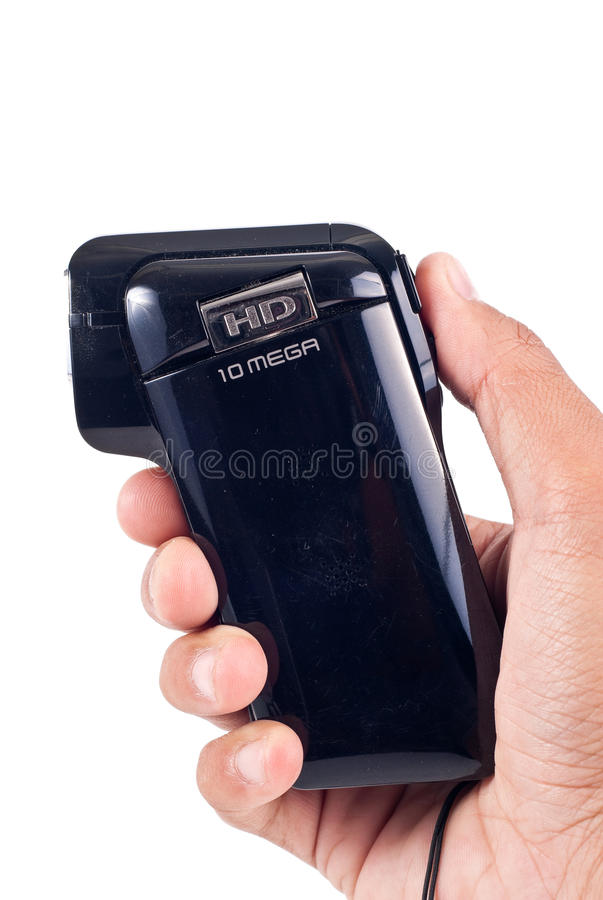 Hand Held 10 Megapixel Camera royalty free stock photography