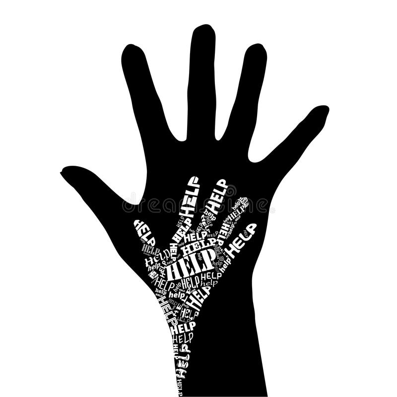 Hand Of Help Royalty Free Stock Images