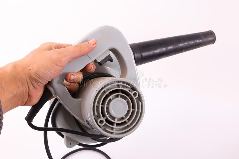 Hand hold blower royalty free stock photos