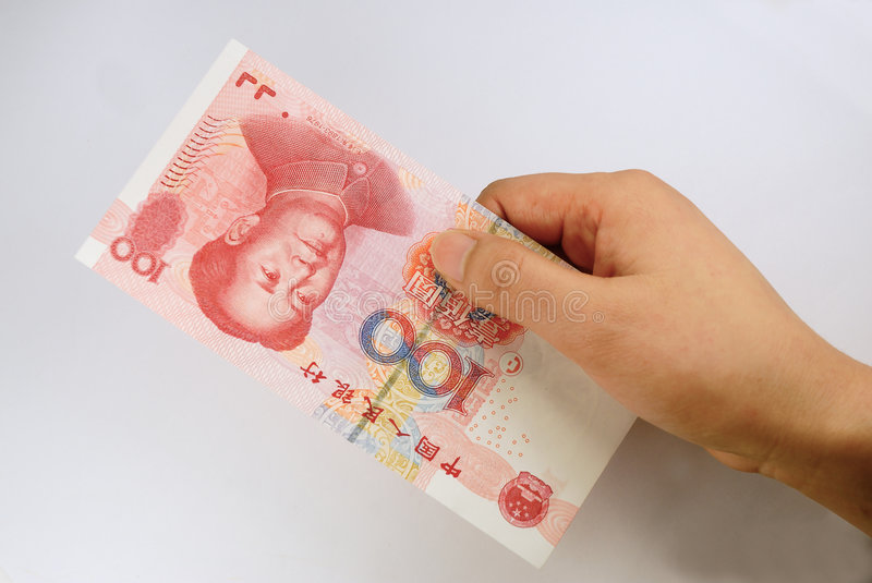 Download Hand hold chinese money stock image. Image of money, bank - 8323263