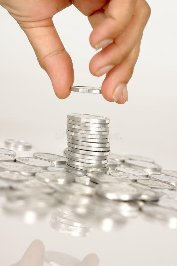 Hand Hold Money royalty free stock image
