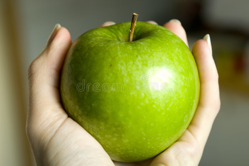 Download Hand Holding Apple Stock Images - Image: 2250584