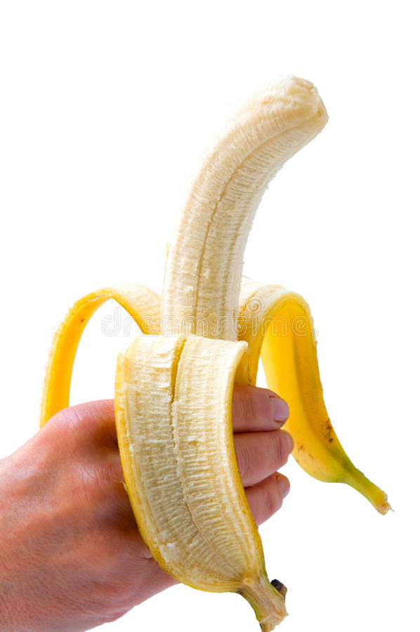 Download Hand holding a banana stock photo. Image of unrecognizable - 28081106