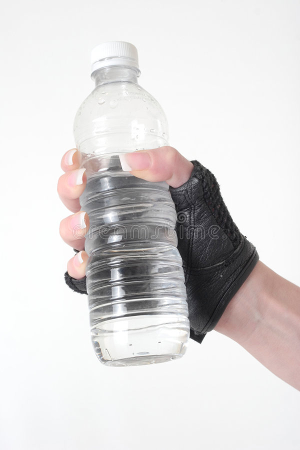 Download Hand Holding A Bottle Of Water Stock Image - Image of fluid, hold: 465255