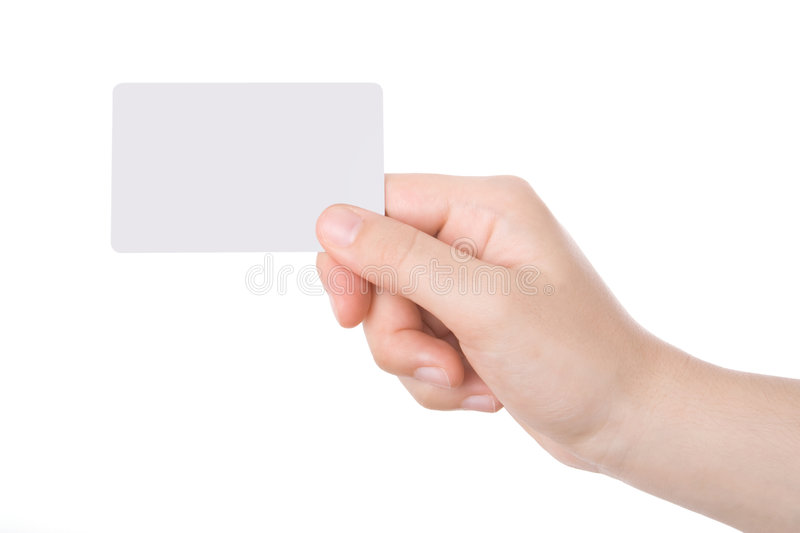 Hand holding a business card stock image image of isolated download hand holding a business card stock image image of isolated commercial 5754867 colourmoves