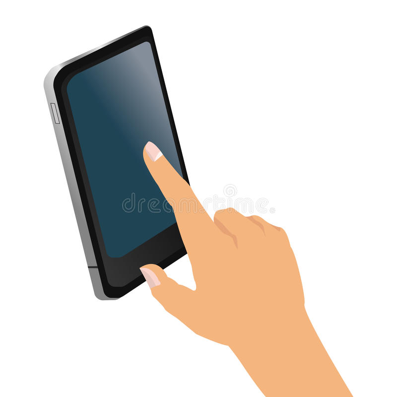 Free Hand Holding Cellphone Icon Royalty Free Stock Photo - 74079445