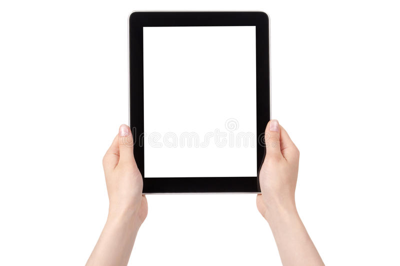 Download Hand Holding Digital Tablet Stock Image - Image: 24947613