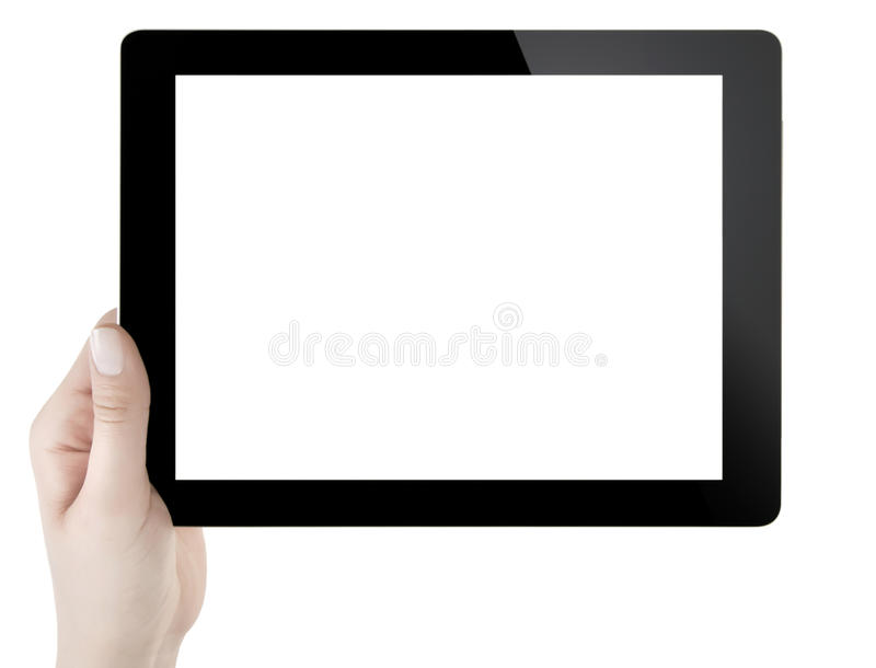 Download Hand Holding Digital Tablet Stock Photo - Image: 32956572