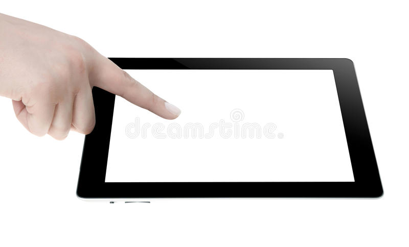 Download Hand Holding Digital Tablet Royalty Free Stock Images - Image: 32956589