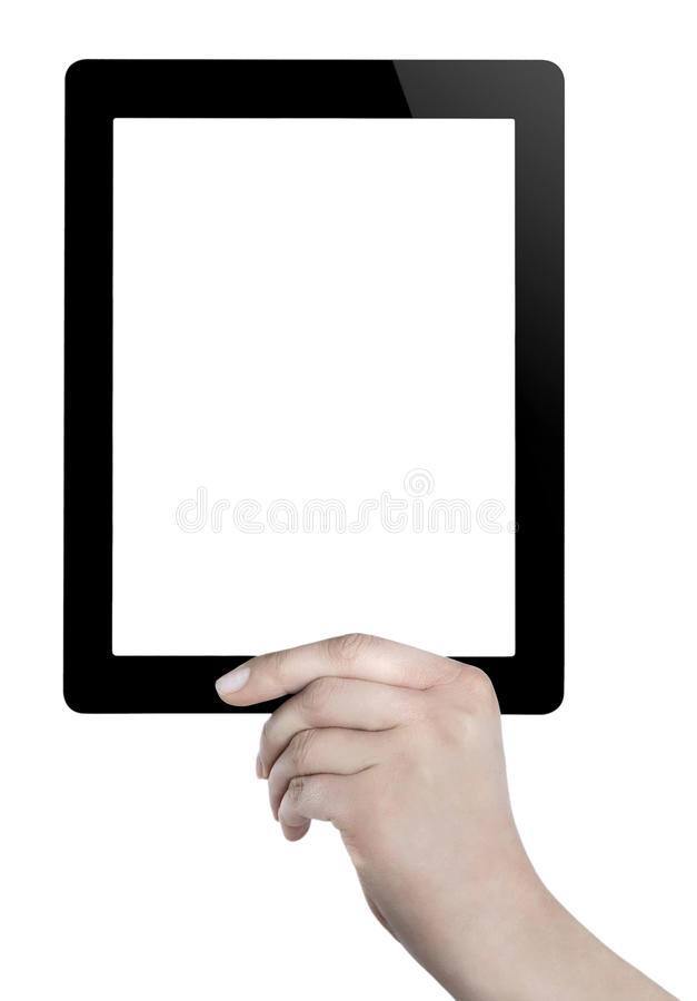 Download Hand Holding Digital Tablet Stock Photos - Image: 32956603