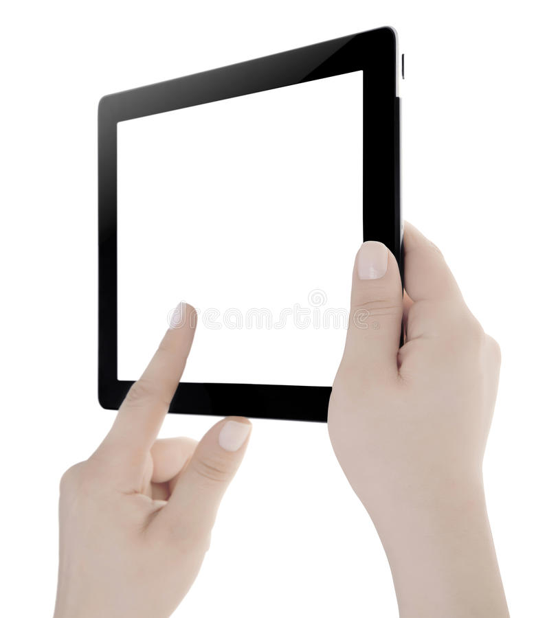 Download Hand Holding Digital Tablet Royalty Free Stock Image - Image: 32956606