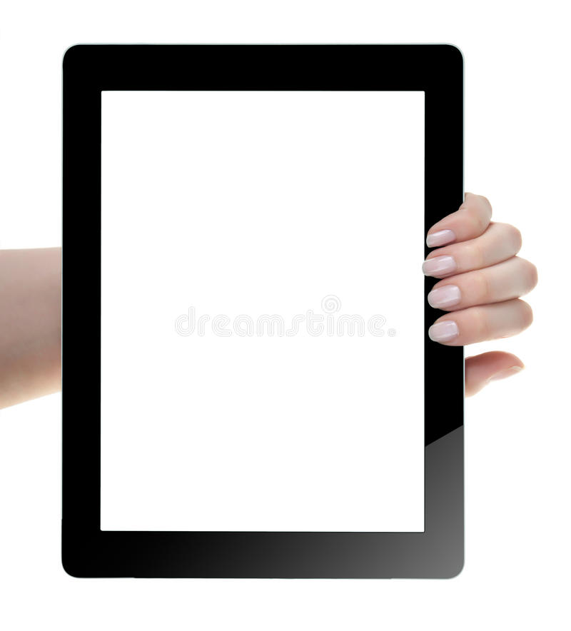 Download Hand Holding Digital Tablet Stock Photo - Image: 33226280