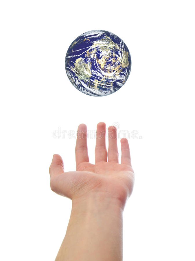Download Hand Holding Earth World stock image. Image of earth - 12708683