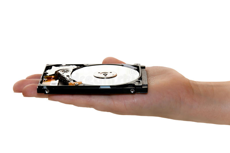 Hand Holding Hard Drive Stock Photos
