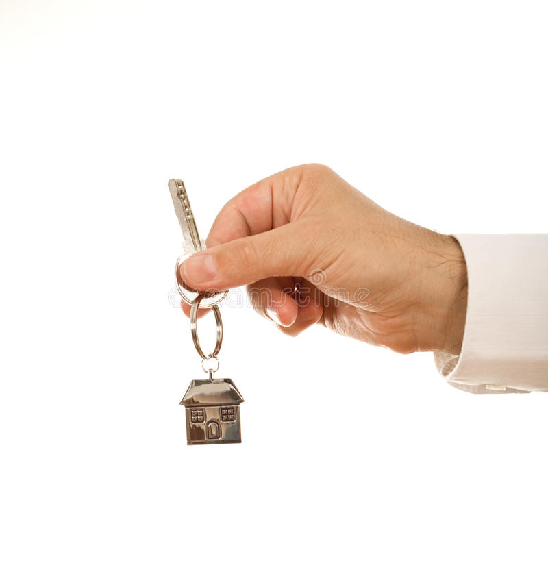 Download Hand Holding House Key Royalty Free Stock Photography - Image: 10630407