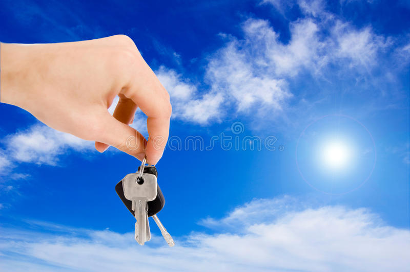 Download Hand Holding Keys. Royalty Free Stock Photo - Image: 14997065