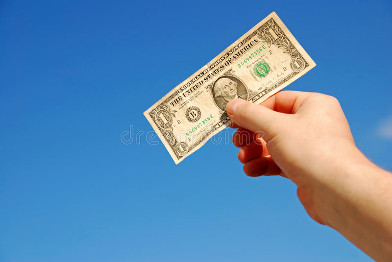 Download Hand holding money stock photo. Image of bargain, money - 14726232