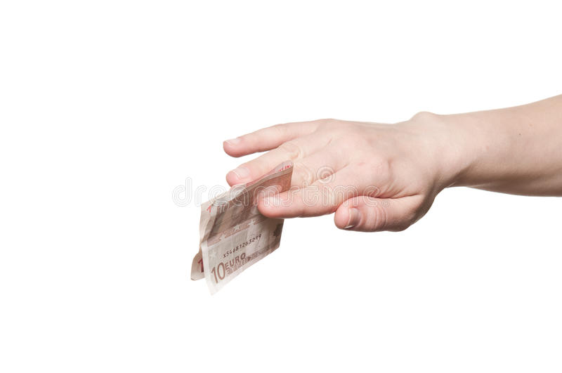 Download Hand holding money stock image. Image of invest, banknote - 27697195