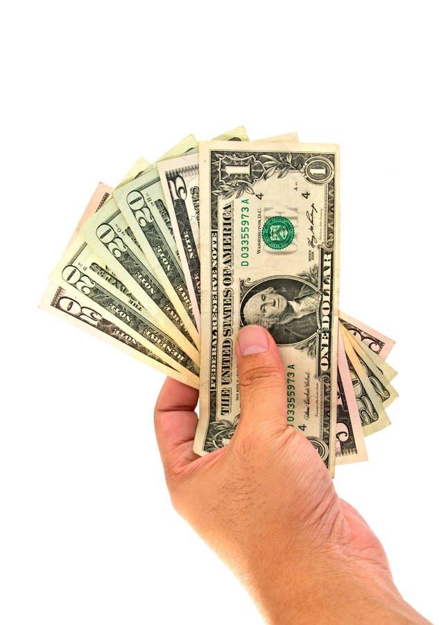 Hand Holding Money Dollars Isolated Stock Image - Image of ...Holding Money In Hand