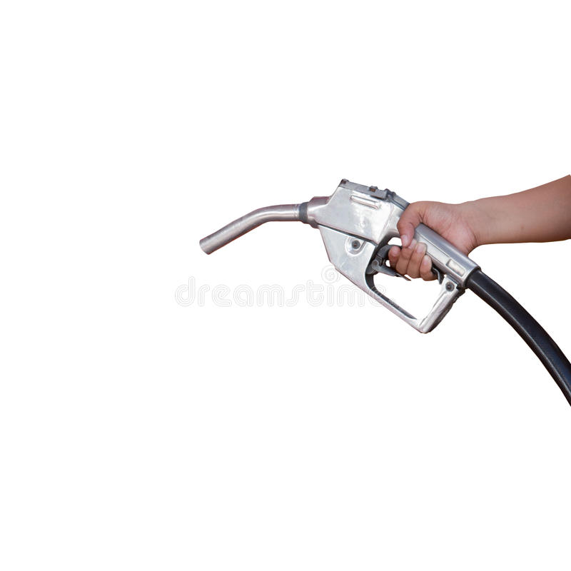 Download Hand Holding Oil Distributor Isoalated White Stock Photo - Image of green, isolation: 31581002