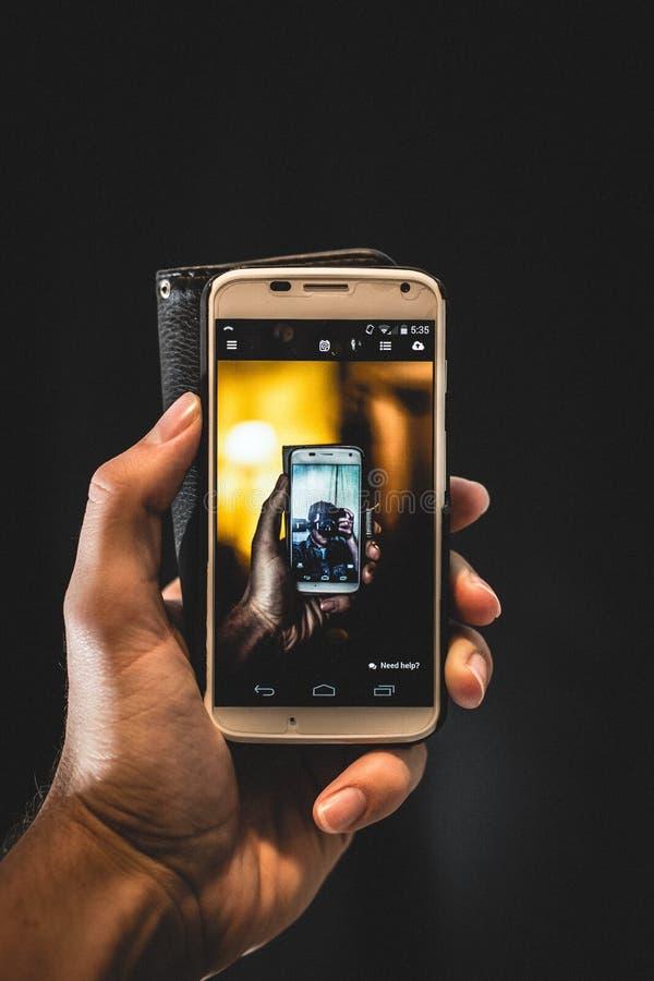 Hand Holding Smartphone Free Public Domain Cc0 Image