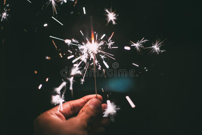 Hand Holding Sparkler Free Public Domain Cc0 Image