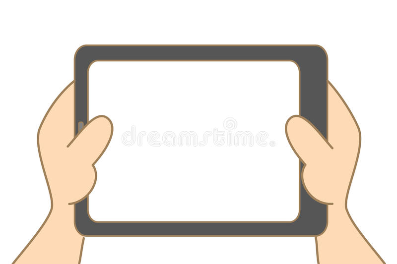 Download Hand Holding Tablet Royalty Free Stock Photography - Image: 29029567